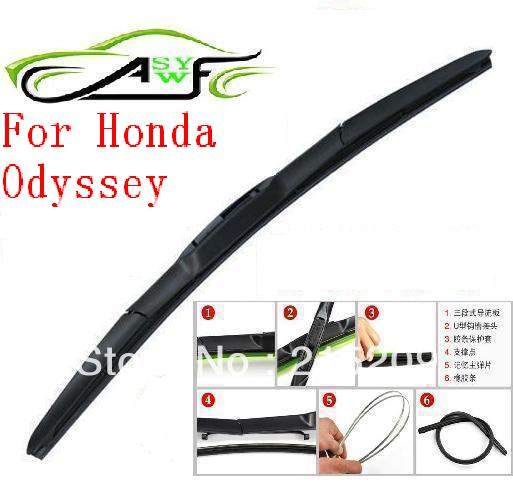 Perfect Free Shipping Auto Car Windshield Wiper Blade For Honda Odyssey Hook Type  Wiper Arm Soft Rubber WindShield Wiper Blade 2pcs/PAIR In Windscreen Wipers  From ...