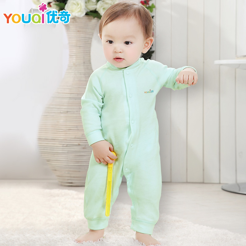 YOUQI Unisex Baby Clothes Boys Girls Romper Toddler Infant Cotton Brand Costumes Suit Rompers 2017 Long Sleeve Spring Jumpsuit newborn baby girls rompers 100% cotton long sleeve angel wings leisure body suit clothing toddler jumpsuit infant boys clothes