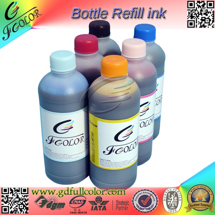 Special UV-Anti Dye Ink For Mini Dry Lab Printer Fuji DX100 Refill Bottle Inks With Cartridge Chip T7811-6 t499 t504 refill ink cartridge for epson 10600 printer with show ink level resettable cartridge chip 850ml pc