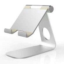 Universale Alluminio Tablet pad di raffreddamento Stand tablet Holder per Apple ipad 2 3 4 mini 7 8 9 10 pollice tablet