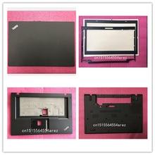 Novo laptop original lenovo thinkpad t460 lcd, tampa traseira/lcd bisel/palmrest/base, estojo 01aw306 01aw309 01aw151 01aw303 01aw317