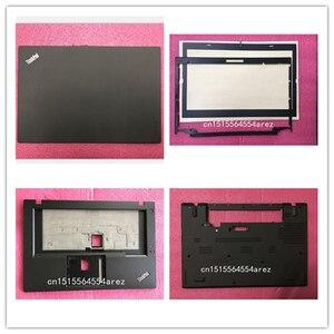 Image 1 - חדש מקורי מחשב נייד lenovo Thinkpad T460 LCD האחורי מכסה/LCD לוח/Palmrest/בסיס כיסוי מקרה 01AW306 01AW309 01AW302 01AW303 01AW317