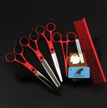 Freelander Professional Pet Grooming Scissors Set 7 Inch,Dog Shears,Scissors For Dog Grooming,Pet Forbici Scharen