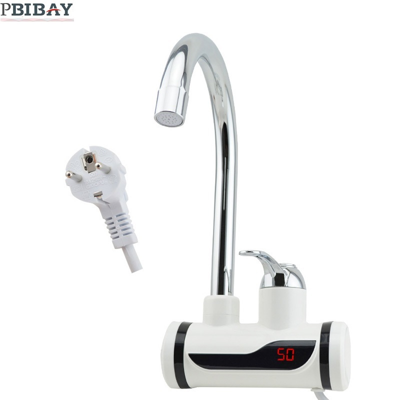 BD3000W-18,free shipping,Digital Display Instant Hot Water Tap,Tankless Electric Faucet,Kitchen Faucet Water Heater,with EU plug portable high power color air blower electric balloon inflator pump two nozzle