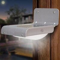 Nueva LED Resistente al Agua Al Aire Libre de Iluminación de La Lámpara/Solar Powered Pared Light Ray/Sound Sensor de Ahorro de Energía Jardín camino Yard LED IP65