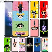 Powerpuff Girls Phone Case for Oneplus 7 7Pro 6 6T Oneplus 7 Pro 6T Black Silicone Soft Case Cover