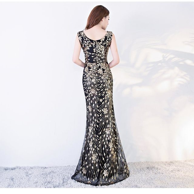 #party #Women #Mermaid #Gold Long #Prom Evening #Dress #grl #fashion #boygrl 1