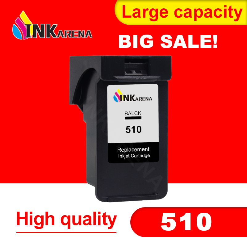 INKARENA PG510XL Black ink Cartridge For Canon PG510 PG-510 PG 510 XL Refilled Cartridges Pixma MP250 MP270 MP280 MX320 PrinterINKARENA PG510XL Black ink Cartridge For Canon PG510 PG-510 PG 510 XL Refilled Cartridges Pixma MP250 MP270 MP280 MX320 Printer