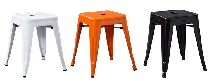 4 pieces/lot 18 inch seat height metal bar stool iron sheet chair-in Dining Chairs from Furniture on Aliexpress.com | Alibaba Group  sc 1 st  AliExpress.com & 4 pieces/lot 18 inch seat height metal bar stool iron sheet chair ... islam-shia.org