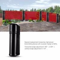 Four Beam Fence Burglar Alarm Photoelectric Infrared LED Detector Security System ABH 100