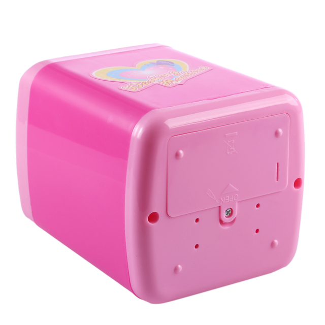 Educational Toy Mini Electric Washing Machine Children Pretend & Play Baby Kids Home Appliances Toy - Pink 4