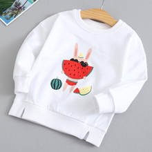 Girls T-shirts Cartoon Print Cotton Children Long Sleeve T Shirts for Boys Clothes Spring Autumn Girls Tops Tees 3 4 5 6 7 Years boys t shirts for clothes autumn turndown collar pullover children long sleeve spring school uniform t shirt 4 6 8 10 12 years