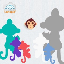 Lensple 6 Color Monkeys Unicorn Interactive Stand Smart Induction Toys Best Gifts For Kids