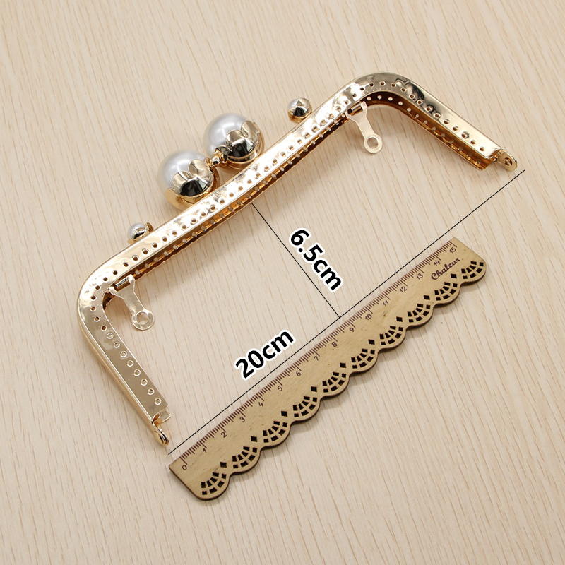 1 pcs 20 CM Marble White Black Pearl Clasp Metal Sewing Purse Frame High  Quality China Online Shop Bag Parts Hanger Purse Frame-in Bag Parts    Accessories ... fa721dc27704