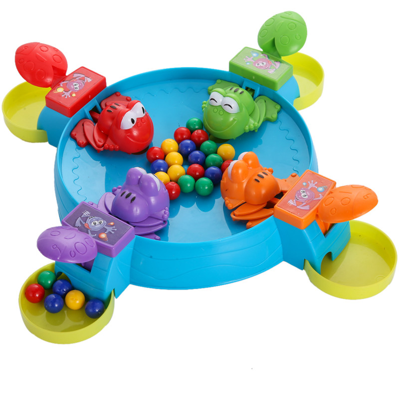 Creative Multiplayer Game Board Parent Child Interaction Feeding Small Frogs Toy Fun Education Indoor Table Gaming Toy bohs 2 persons parent child board game family fun recreation