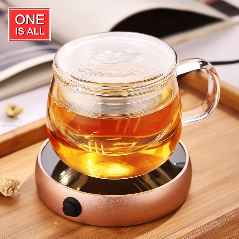 ᐅEléctrico portátil escritorio café caliente mantener el calor ...