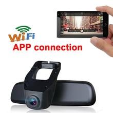 Cheaper 1080P Car DVR DVRs Registrator Dash Camera Cam Digital Video Recorder Camcorder G-sensor Night Vision Novatek 96658 IMX 322 WiFi