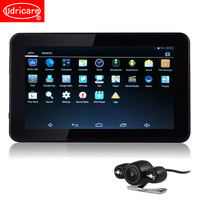 Udricare 7 inch Android GPS Navigation Car Tablet GPS Navigation Rear View Camera 16GB Allwinner A33 Quad core WiFi Internet GPS