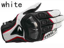 Free shipping Rs-taichi 390 motorcycle gloves / racing gloves / carbon fiber gloves Genuine leather gloves 3color