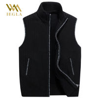 Men's Sweaters Vest Cardigan Male Warm Sweater Business Casual Sleeveless Garment Sweater Knitted Thick Coat Europe Size