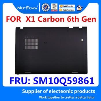 MAD DRAGON Brand Laptop new Bottom Base Bottom Cover Assembly Black shell for Lenovo ThinkPad X1 Carbon 6th Gen SM10Q59861