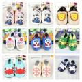 Cartoon Pattern Choose 100%Genuine Leather Christmas Gift First Walker,Baby boy Shoes ,Baby Girl Moccasins ,Soft Sole Prewalker