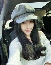 Women Artist Beret Cap French Style Autumn Winter Vintage Solid Colors Soft Felt Wool Beanie Hat