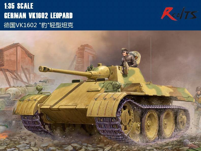 RealTS HobbyBoss Model 82460 1/35 German VK1602 LEOPARD Plastic Model Kit