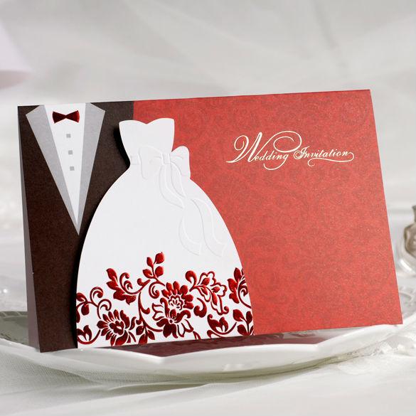 Vintage smoking y vestido de la novia y novio diseño