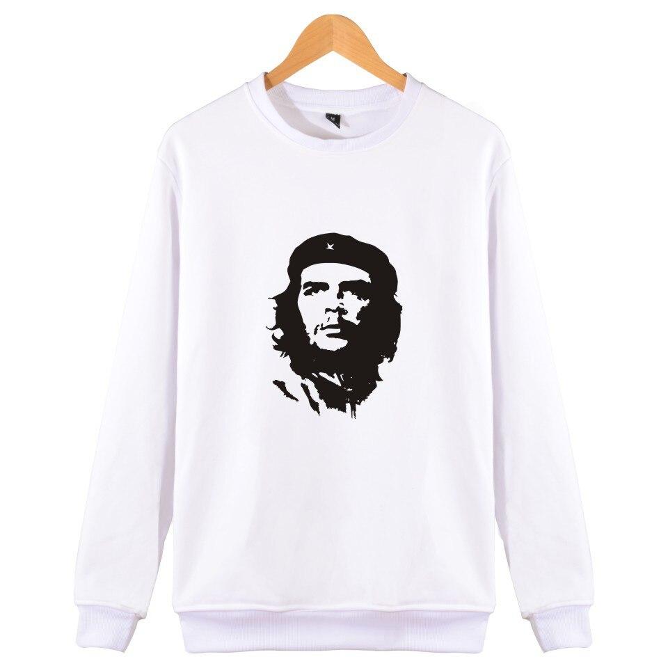 Che Guevara Cartoon Oversize Autumn Harajuku Men Famous Brand Winter Hoodies And Sweatshirts Set XXS To 4XL