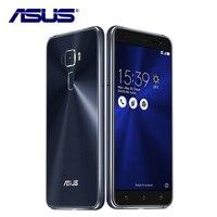 Новый Asus ZenFone 3 ZE552KL мобильный телефон 4 ГБ Оперативная память 64 ГБ Встроенная память Android 6,0 Qualcomm Восьмиядерный 2.5D гориллы стекло 1080 P 5,5 ''16.0MP