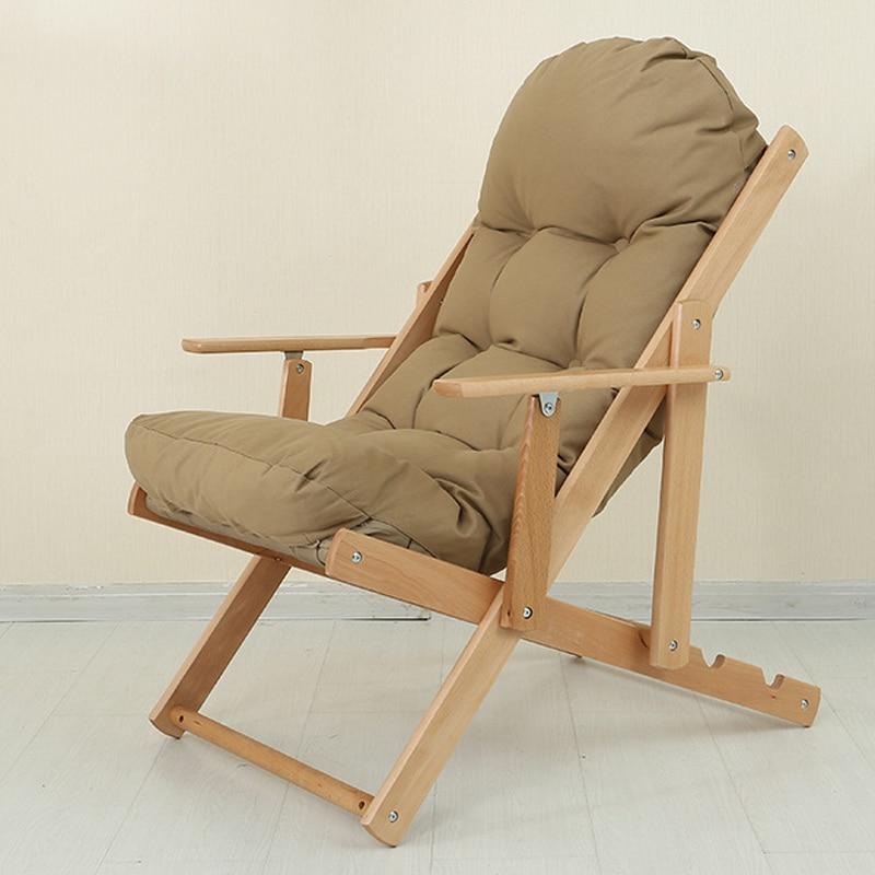 4 Couleurs Pliage Sieste Fauteuil inclinable Assis/Pose Sieste Chaise longue Canapé D'hiver/D'été De Pêche Chaise De Plage En Plein Air/Home dans Chaises de plage de Meubles