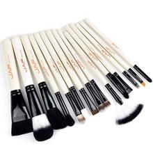 Pro 15 Pcs Cosmetic Makeup Brushes Set Bulsh Powder Foundation Eyeshadow Eyeliner Lip Make up Brush Beauty Tools Maquiagem A2
