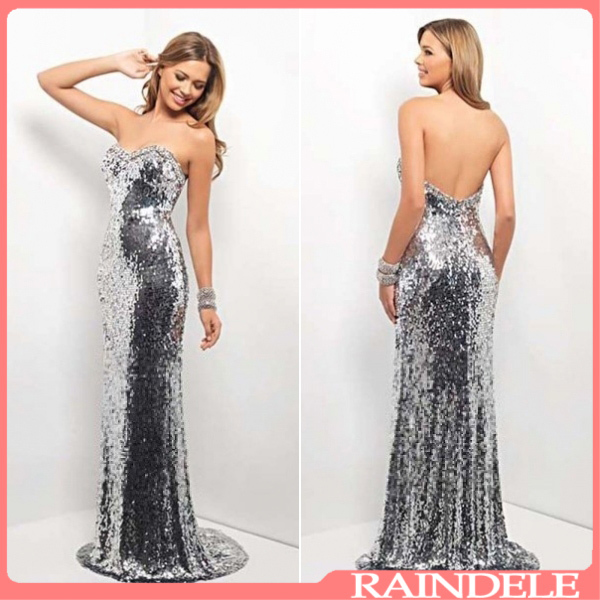 Bling Long Dress