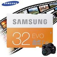 Samsung Original sd-karte 8 GB 16 GB 32 GB SDHC 64 GB 128 GB 256 GB SDXC Class10 Speicherkarte Gelesen 48 mb/s C10 USH-1 Unterstützung für Kamera