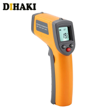 Handheld Non-contact IR Infrared Thermometer LCD Display Laser Infrared Digital C/F Selection IR Temperature Gun -50 to 360℃ цена 2017