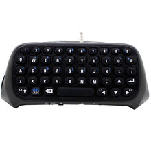 Bevigac Mini Nirkabel Bluetooth Keyboard Keypad Kunci Chatpad Chatting Pad untuk Sony PlayStation Stasiun Bermain PS 4 PS4 Game Controller(China)