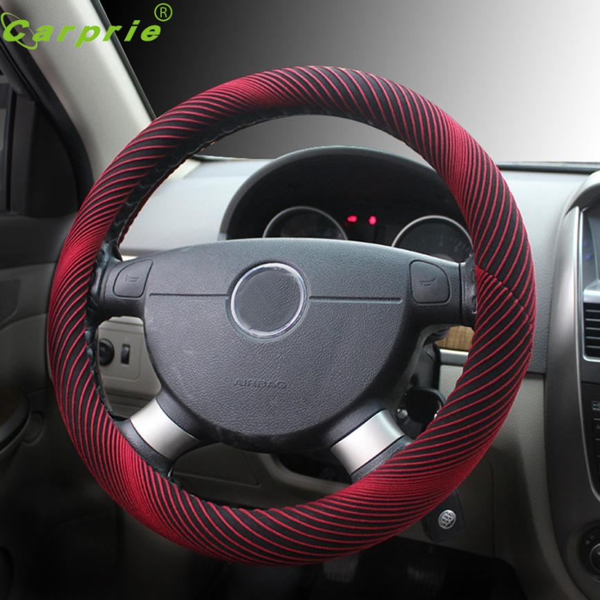 Cover Steering Wheel NEW Universal Sport Type Car Anti-Slip 38CM 15 Inch Drop Shipping jul25