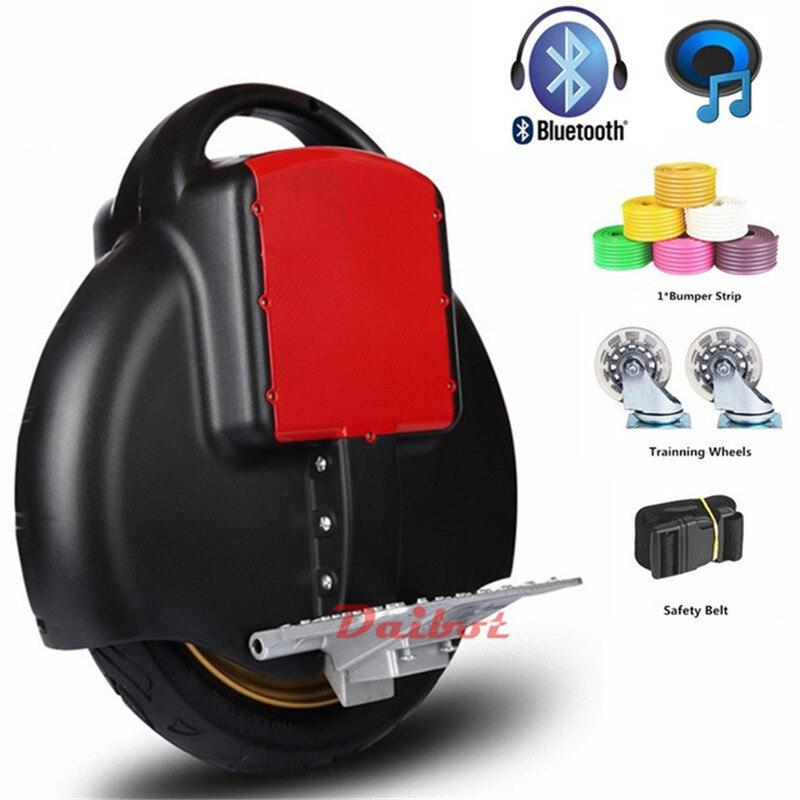 Monowheel auto équilibrage une roue hoverboard bluetooth unique scooter à roues eléctriques planche à roulettes
