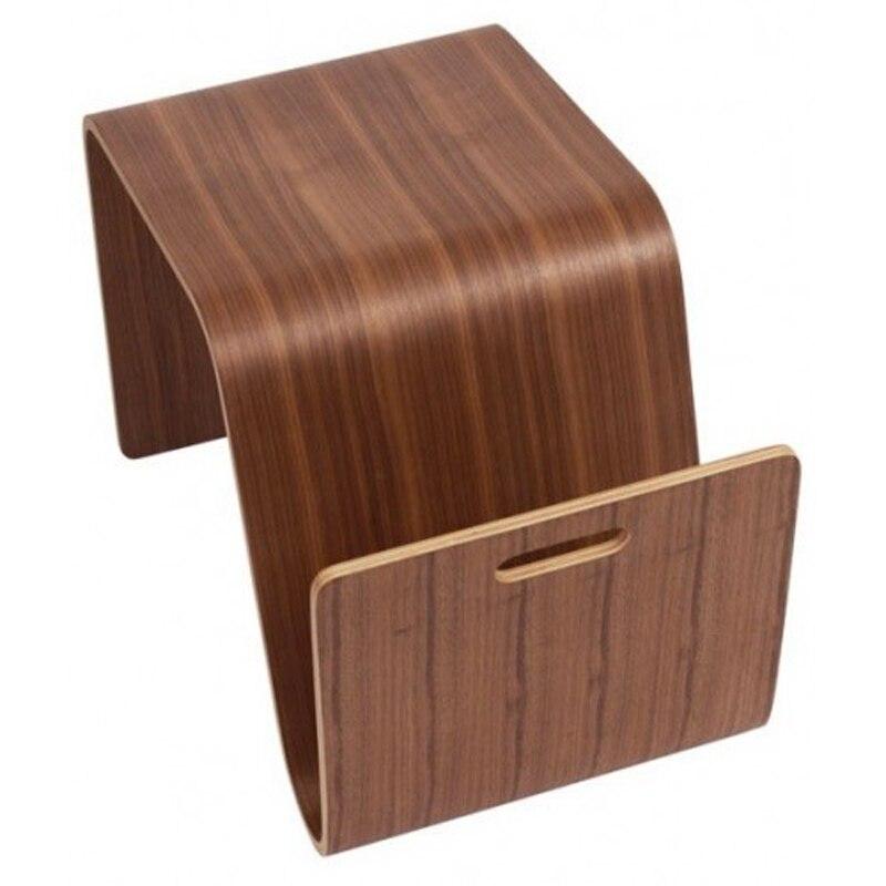Table basse en bois pour salon W36 * D66 * H40 CM - 5