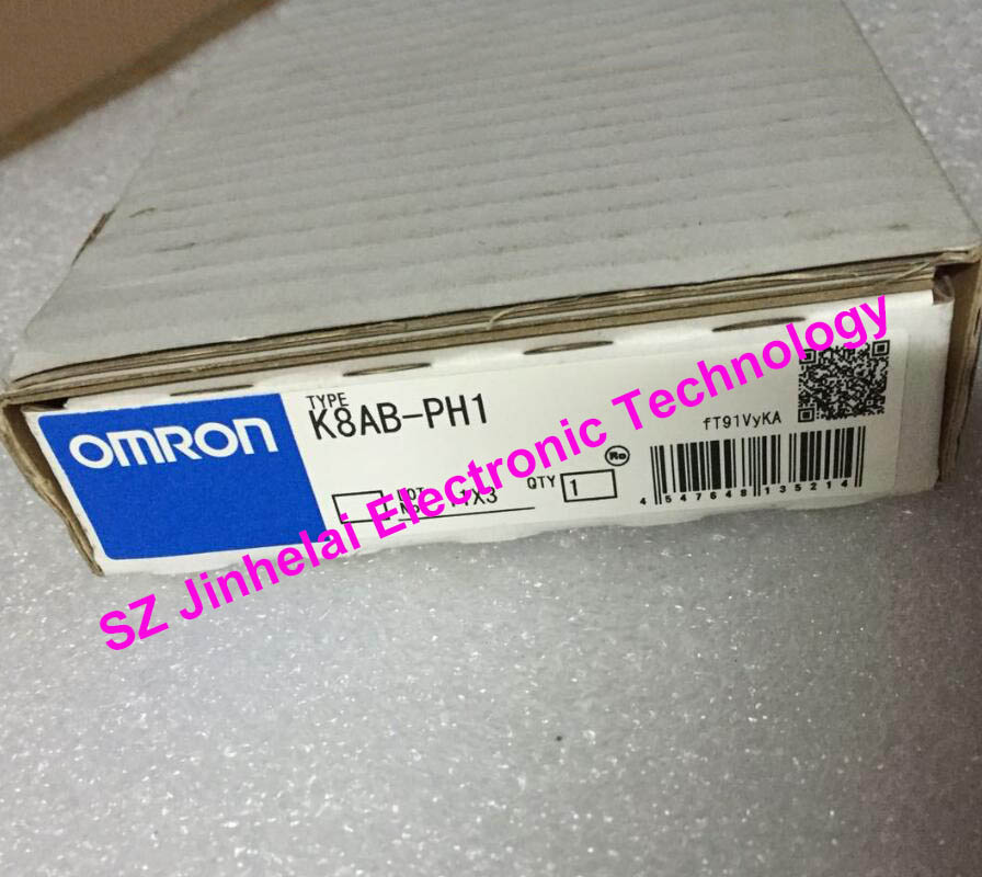 OMRON K8AB-PH1 New and original 3-phase Reverse phase undervoltage relay 200/500VAC цена 2017