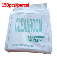 150pcs / bag 9x9 For large format printer dust cloth cleanroom wiper