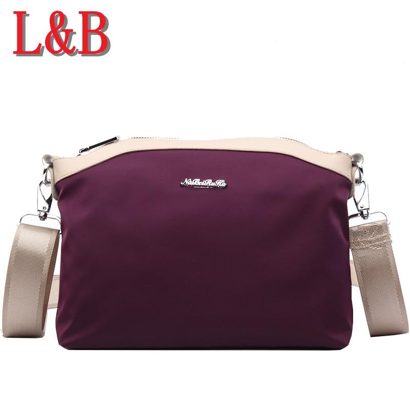 ФОТО Women Messenger Handbags 2016 New Simple Ladies Messenger Canva Bags Shoulder Bag Nylon Small Oxford Fabric Package High Quality