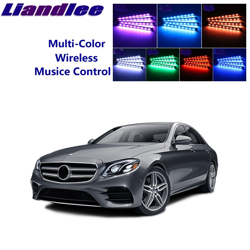 Decorative Lamp Car Lights For Mercedes Benz E Mb W210 W211 W212 W213 C207 Car Full Color Led Glow Interior Car Kit Under Dash Foot Floor Seats Accent Ligh Consumers First