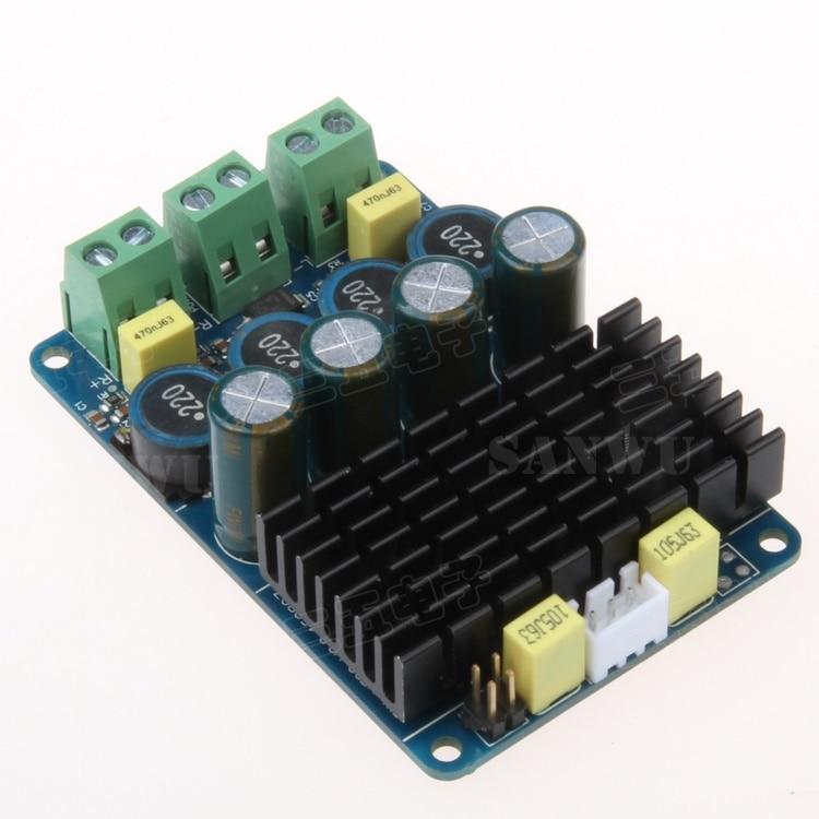 Digital power amplifier board TDA7498 2X100W linep a915 digital amplifier