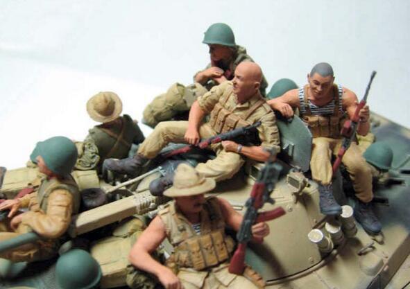 1/35 Hars Kits Sovjet Leger De negende Bedrijf in Afghanistan (geen inclusief tank)-in Modelbouwen Kits van Speelgoed & Hobbies op  Groep 3