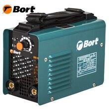 Аппарат сварочный инверторный Bort BSI-190H (Диапазон тока 10-180А, мощность 5300Вт, электроды толщиной до 4 мм)