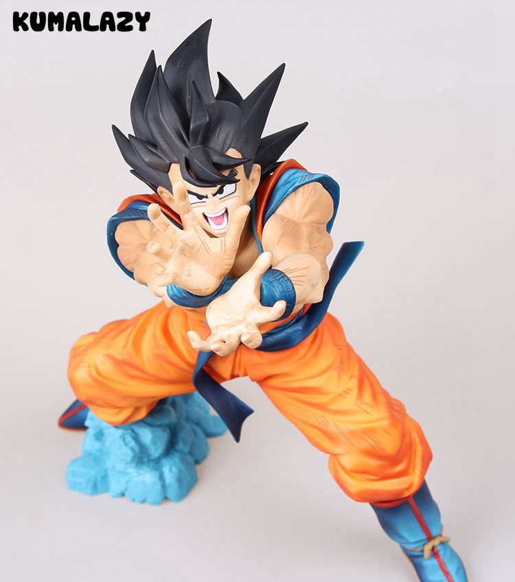 Dragon Ball Figure DXF Super Saiyan Son Gokou Kakarotto DragonBallZ Figure Banpresto Scultures Big Original Action Figure Model dragon ball dxf the super warriors vol 3 super saiyan rose gokou black and vegetto pvc figure collectible model toys kt4201