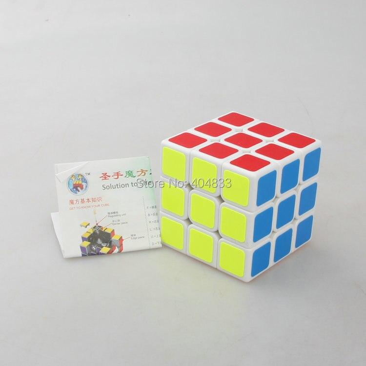 Shengshou legend 3x3 cube Белый/Черный кубик Cubo Magico куб скоростной куб обучающий игрушка для детей дропшиппинг