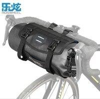 Roswheel Waterproof Bike Cycling Bag Bike Bicycle Front Handlebar Reflective Frame Bag Air Proof Basket Pannier Pouch